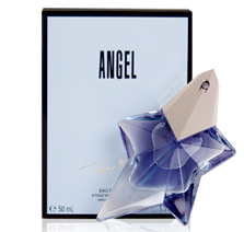 ANGEL perfume was designed by THIERRY MUGLER in 1993. Its fragrant nature explores essences of honey, chocolate, and caramel and is blended with notes of vanilla, patchouli, and sandalwood. Angel shower gel is the perfect addition to the perfume, creating an alluring scent all over. Angel perfume is packaged in a beautiful star shaped bottle and is enclosed in a blue box. Thierry Mugler also designed the fragrance Angel Innocent.