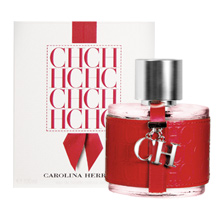 CH For women was launched by the designer house of Carolina Herrera in 2007. This scent possesses a blend of bergamot, orange, pomelo, melon, rose, jasmine, praline and cinnamon over woody base notes