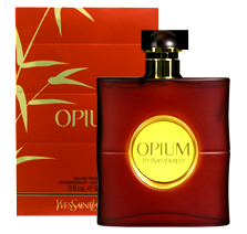 OPIUM By YVES SAINT LAURENT was introduced in 1977. This fine fragrance contains coriander, clove, bayleaf and is accented with vetiver, amber and patchouli; making OPIUM perfect for formal use.